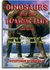 Hardback Book - Dinosaurs and the Expanding Earth